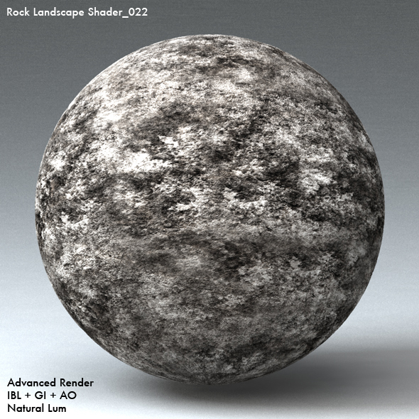 Rock Landscape Shader_022 - 3DOcean Item for Sale
