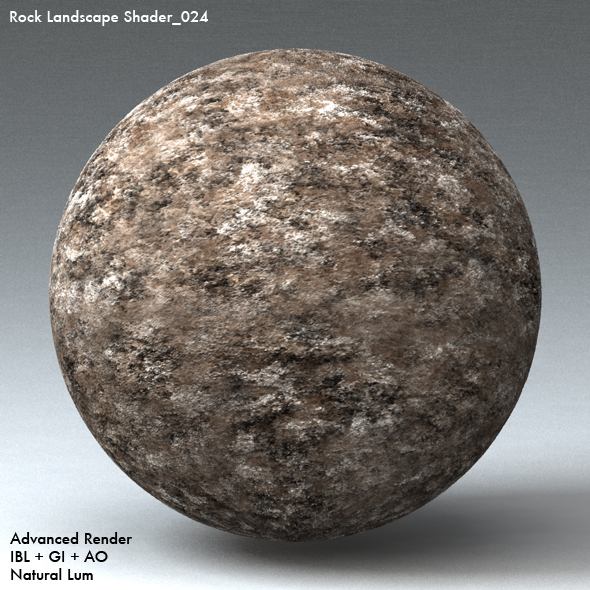 Rock Landscape Shader_024 - 3DOcean Item for Sale