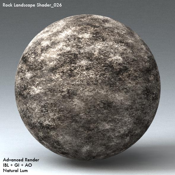 Rock Landscape Shader_026 - 3DOcean Item for Sale