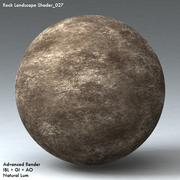 Rock Landscape Shader_027 - 3DOcean Item for Sale