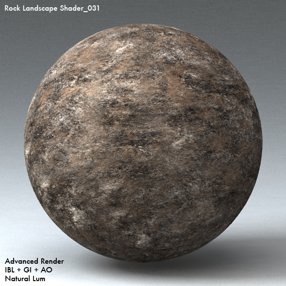 Rock Landscape Shader_031 - 3DOcean Item for Sale