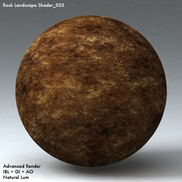 Rock Landscape Shader_033 - 3DOcean Item for Sale