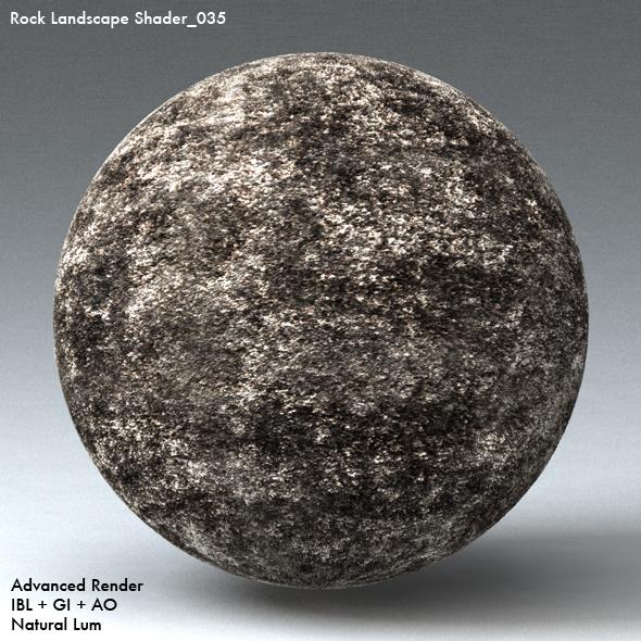 Rock Landscape Shader_035 - 3DOcean Item for Sale