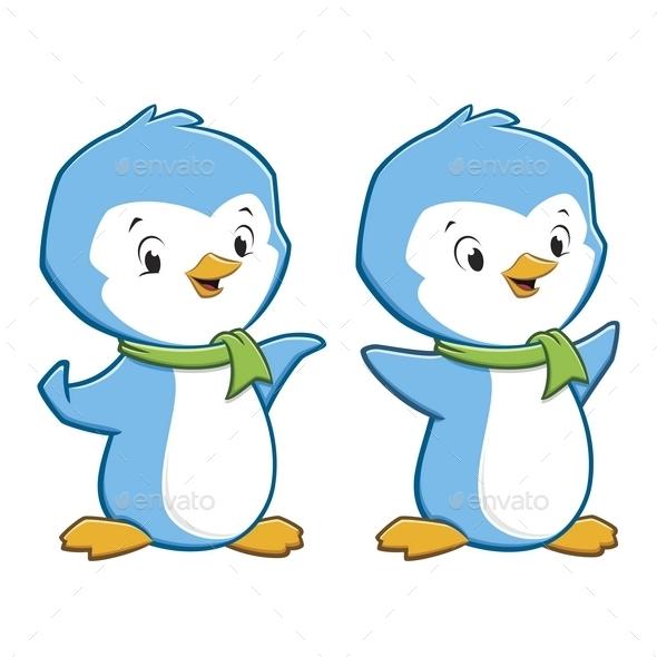Cartoon Penguins - Animals Characters