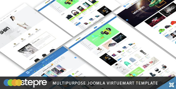 Vina Stepre - Multipurpose Joomla Virtuemart Template