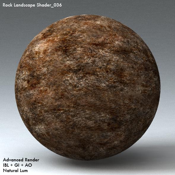 Rock Landscape Shader_036 - 3DOcean Item for Sale