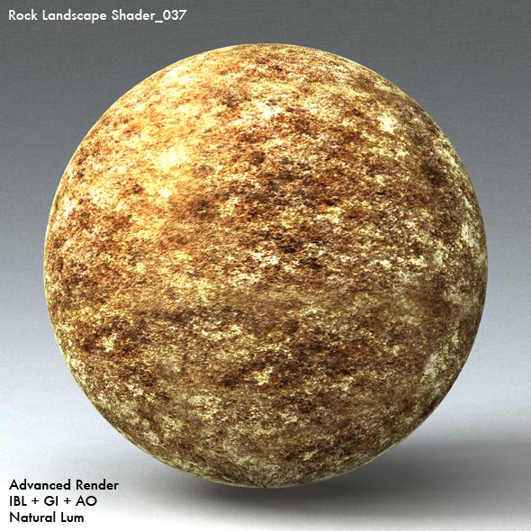 Rock Landscape Shader_037 - 3DOcean Item for Sale