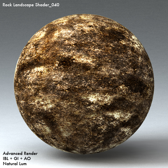 Rock Landscape Shader_040 - 3DOcean Item for Sale