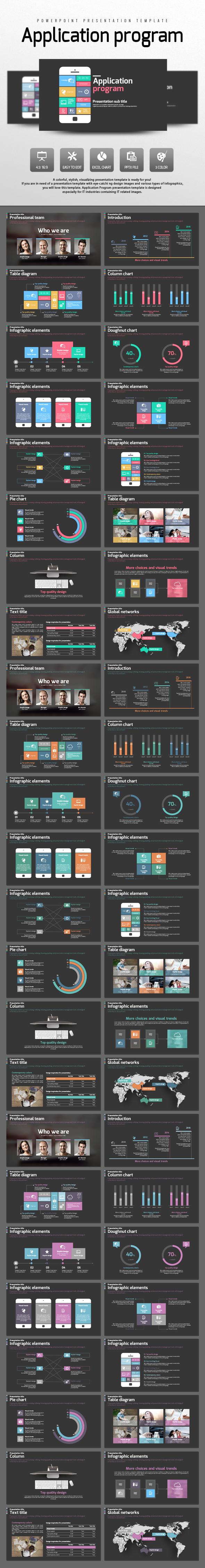 Application Program - PowerPoint Templates Presentation Templates