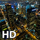 Downtown Los Angeles Buildings at Night - VideoHive Item for Sale