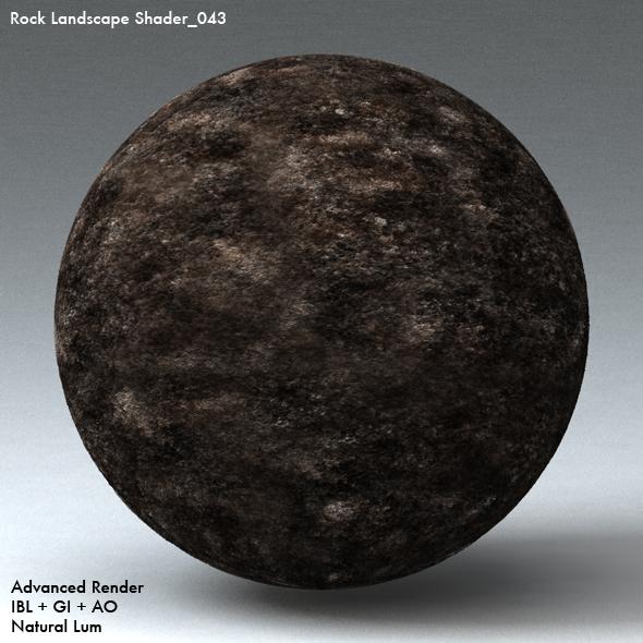 Rock Landscape Shader_043 - 3DOcean Item for Sale