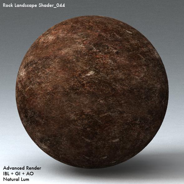 Rock Landscape Shader_044 - 3DOcean Item for Sale