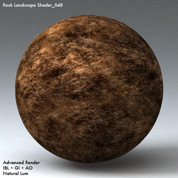 Rock Landscape Shader_048 - 3DOcean Item for Sale