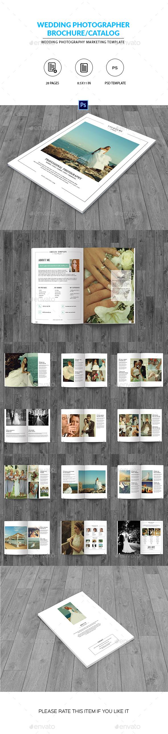 Wedding Photography Brochure/Catalog - Catalogs Brochures