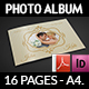 Wedding Album Template - 16 Pages - GraphicRiver Item for Sale