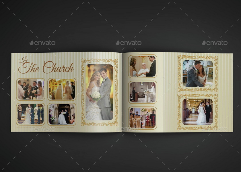 Album Template 16 Pages by OWPictures – Template for Photo Album