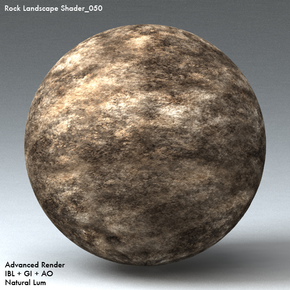 Rock Landscape Shader_050 - 3DOcean Item for Sale