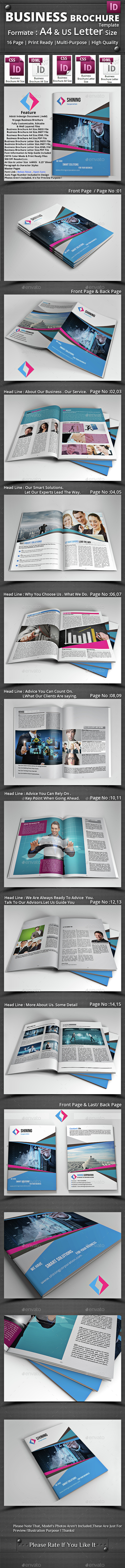 Business Brochure Template - Brochures Print Templates