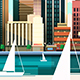 3  City Landscape Flat Style - GraphicRiver Item for Sale