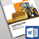 Construction Brochure Design  - GraphicRiver Item for Sale