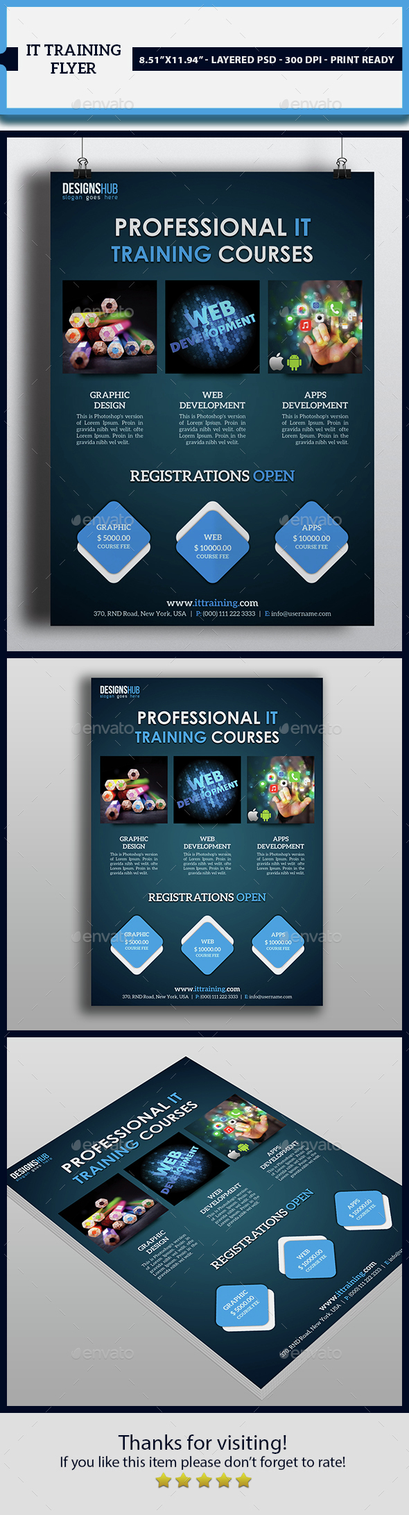 Training Flayer - Commerce Flyers