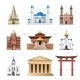 Cathedrals, Churches And Mosques Building Vector - GraphicRiver Item for Sale