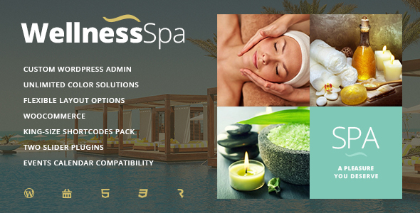 Wellness SPA – Resort, SPA & Beauty Salon WordPress Theme