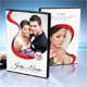 Wedding DVD Cover Template 16 - GraphicRiver Item for Sale