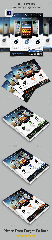 App Flyers  - Commerce Flyers