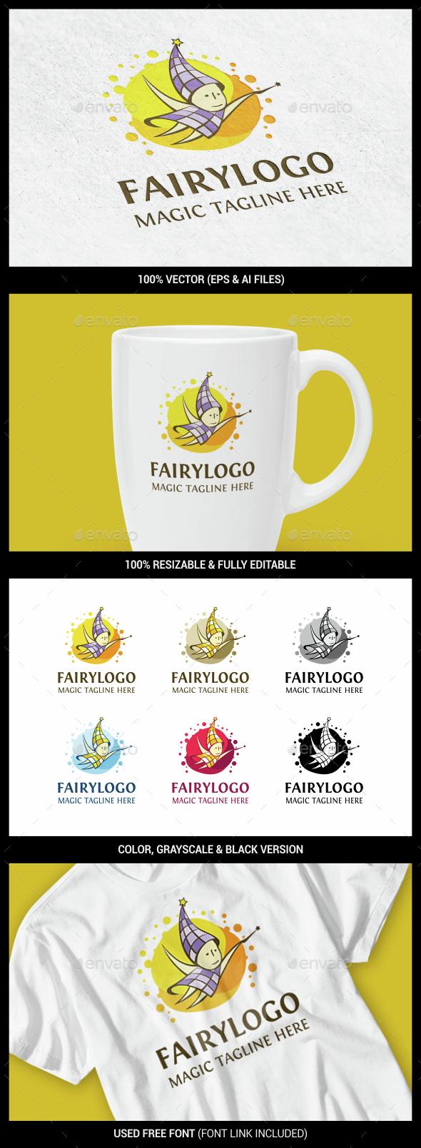 Fairy - Humans Logo Templates