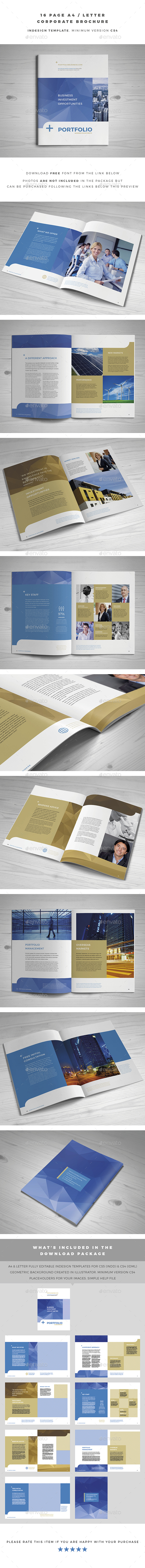 A4 / Letter Corporate Brochure - Corporate Brochures