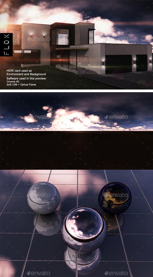 Sunset Desert 47 - 3DOcean Item for Sale