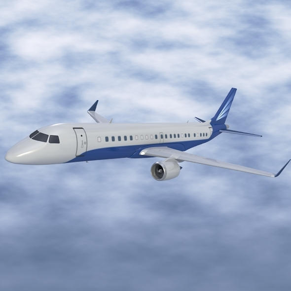 Embraer Lineage 1000 executive jet - 3DOcean Item for Sale