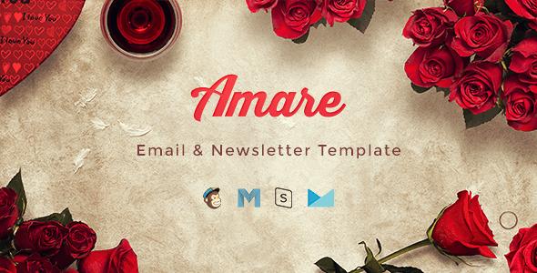 Amare – Valentine Email & Newsletter Template