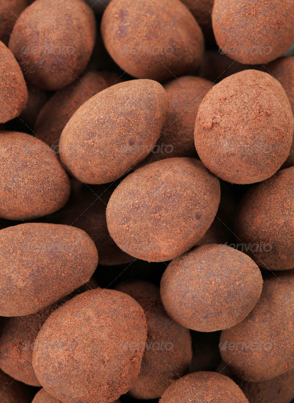 Sweet almonds - Stock Photo - Images