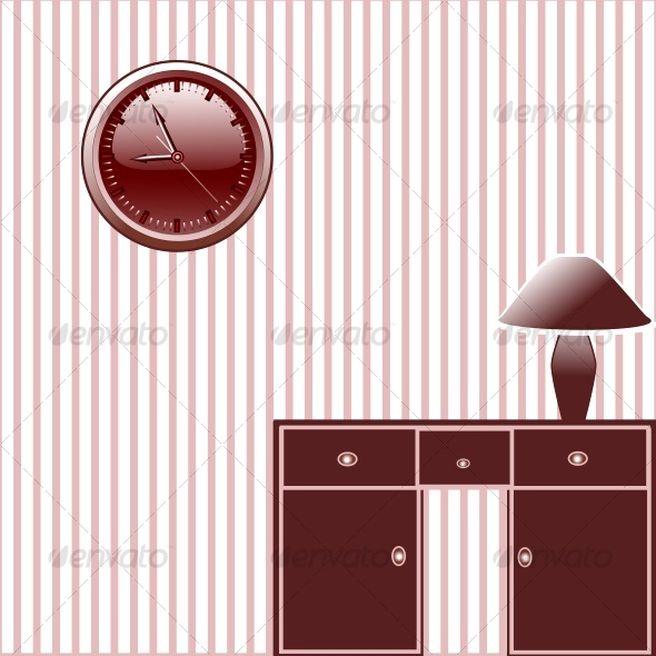 Room. vector - Decorative Symbols Decorative
