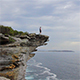 Lone Man on Cliff - VideoHive Item for Sale