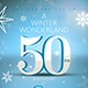 Winter Birthday Invitation Template  - GraphicRiver Item for Sale
