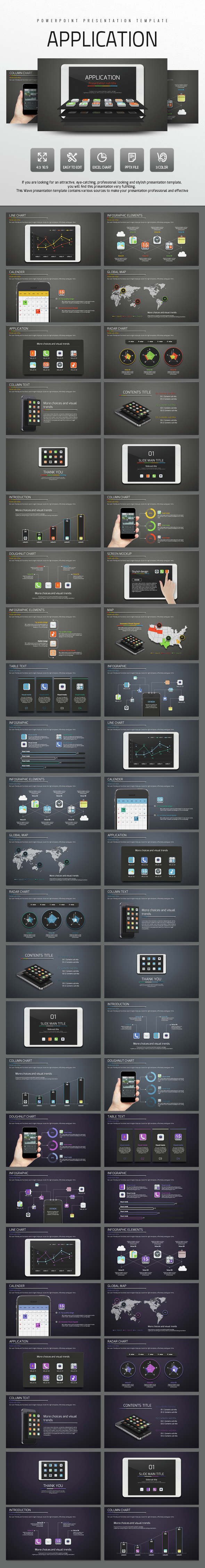 Application - PowerPoint Templates Presentation Templates
