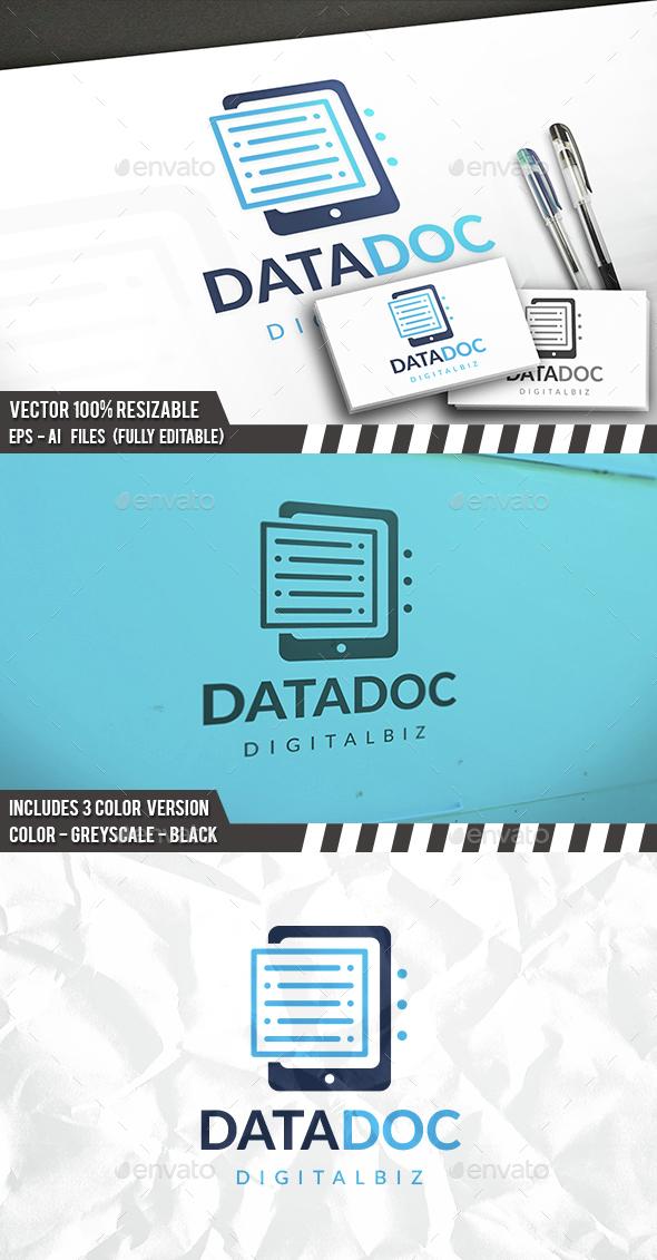 Data Docs Logo - Symbols Logo Templates