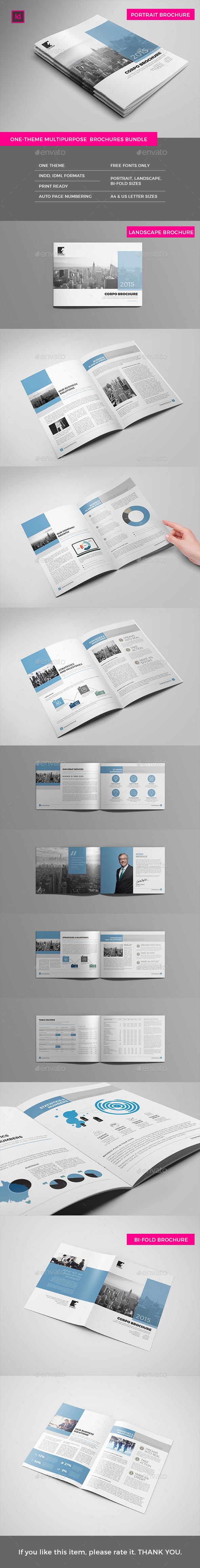 Print Pack - Brochures & Annual Reports - Corporate Brochures