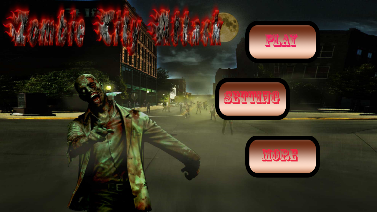 Zombie City Attack 3D Game by wasifgc | CodeCanyon