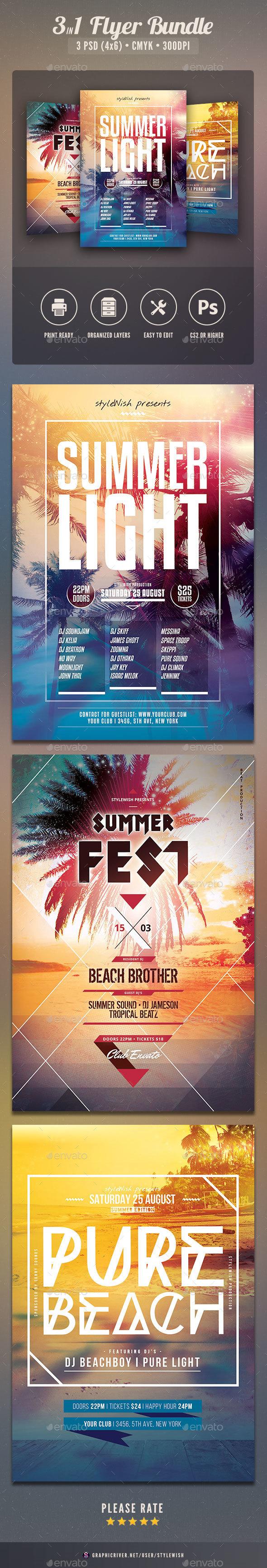 Summer Flyer Bundle Vol.08