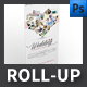 Wedding photo studio Roll-up Templates - GraphicRiver Item for Sale