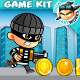 Robber Run Platformer Game Assets 15 - GraphicRiver Item for Sale