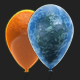 6 3D Balloons Pack - GraphicRiver Item for Sale