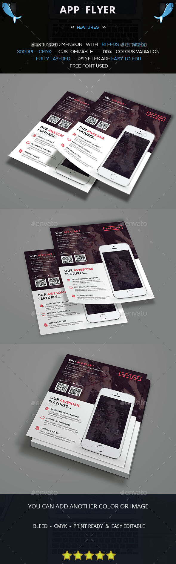 Mobile Promotion Flyer - Commerce Flyers
