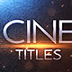 Cinematic Trailer Titles v2 - VideoHive Item for Sale