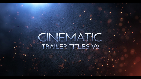 cinematic trailer titles v2 by visual a videohive. Black Bedroom Furniture Sets. Home Design Ideas