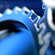 Closeup Gears with Shallow Depth of Field - VideoHive Item for Sale